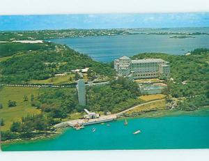 Unused Pre-1980 BEACH SCENE Castle Harbor - Hamilton Bermuda F6180