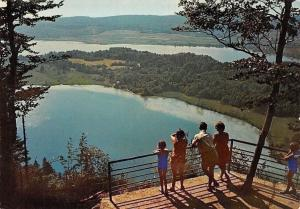 France Paysages du Jura, Belvedere des Quatre-Locs Lake General view 1974