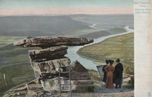 CHATTANOOGA, Tennessee, 1901-07 ; Umbrella Rock , Lookout Mountain