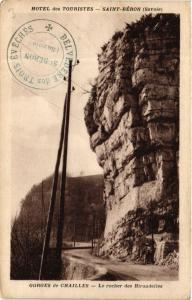 CPA  Hotel des Touristes - Saint-Béron (Savoie) -Gorges de Chailles ... (651690)