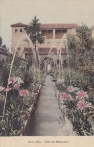 Patio Del Generalife, Granada (Andalucia), Spain, 1900-1910s