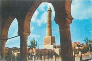 Al Nuri Mosque & the leaning Minaret in Mosul Iraq