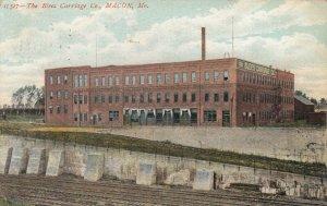 MACON , Missouri, 1900-10s; Blees Carriage Company