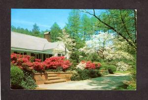 NC Mid South Resort Hotel Motel Southern Pines North Carolina Postcard
