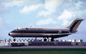 Eastern Airlines - Douglas DC9-14  (AviationCards.com)