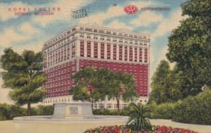 Michigan Detroit Hotel Tuller Curteich