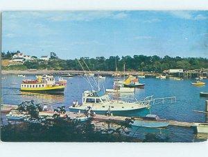 Pre-1980 EXCURSION BOATS Bailey Island - Casco Bay - Near Portland ME AG6093
