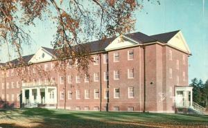 Lewiston, ME, Bates College, New Women's Dormitory, Vintage Postcard f7110