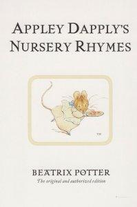 Appley Dapply's Nursery Rhymes Beatrix Potter Book Postcard