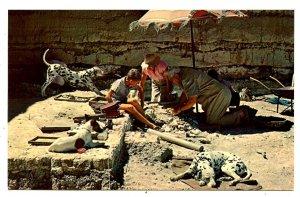 Anthropologist Leakey & Family in Tanganyika