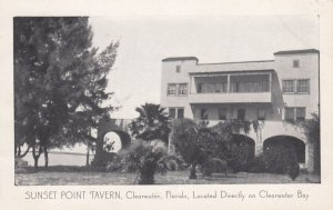 CLEARWATER BAY , Florida , 1930s ; Sunset Point Tavern