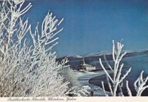 Paddlewheeler Klondike, Yukon River,  Whitehorse, Yukon,  Canada,  50-70s
