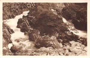 Wales Conway Falls, Bettws-y-Coed, Conwy Waterfall, Cascade