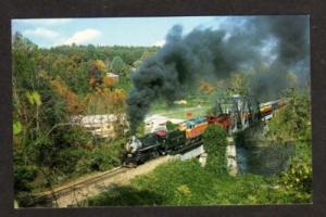 NC Great Smoky Mts Mountains Railroad Train BRYSON CITY NORTH CAROLINA