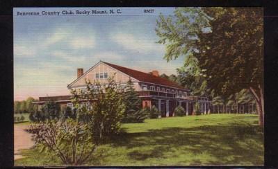 North Carolina colour PC Benvenue Country Club Rocky Mount