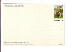 Black Creek Pioneer Village, North York, Ontario, Buses, Post Office Issue wi...