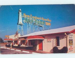 Pre-1980 SEAFOOD HOUSE RESTAURANT ON BISCAYNE BOULEVARD Miami Florida FL B9367