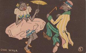 CAKE WALK, PU-1910; Man and Woman dancing
