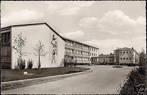 germany, SINSHEIM ELSENZ, Volksschule (1950s) RPPC