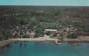 Aerial View of Nares Springhaven Lodge, 30,000 Islands, Georgian Bay, Ontario...