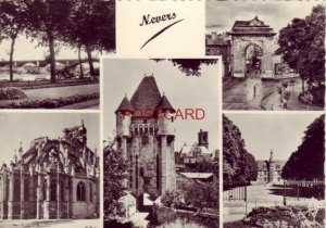 Continental-size RPPC - France. five views of NEVERS
