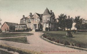 Residence of Professor Hammond - Sackville, New Brunswick, Canada - pm 1910 - DB