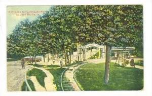 Entrance to Fairmount Park,Council Bluffs,Iowa,00-10s