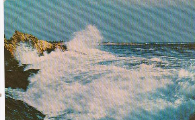 Maine Greetings From The Rock Bound Coast 1967