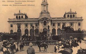 Senegal Dakar Palais du Gouvernement General Palace Postcard
