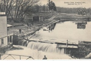Broken Dam , Kenoza Lake , Sullivan Co. , New York , 00-10s
