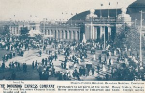 TORONTO , Ontario , Canada , 1900-10s ; C.N.E. ; Manufacturers Building #2