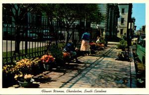 South Carolina Charleston Flower Women