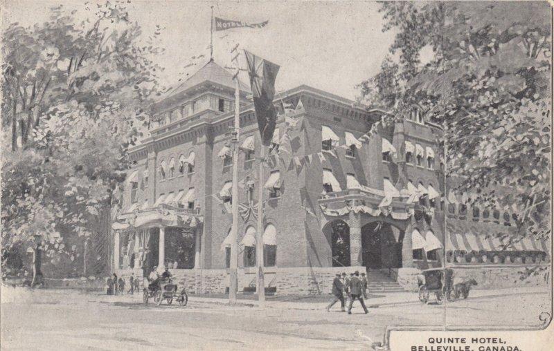 BELLEVILLE , Ontario , Canada , 1900-10s ; Quinte Hotel