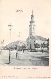 B9845 Croatia Otocac Rimo kat crkva Sv Trojice 1899