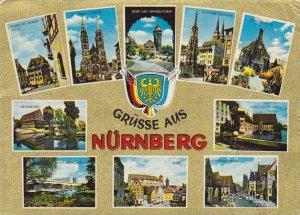 Greetings Gruesse aus Nuernberg