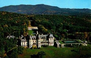 North Carolina Asheville Aerial VIew Of Biltmore House & Gardens