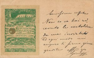 Esposizione Internazionale D'Arte in Venezia - 1899 - 04.28