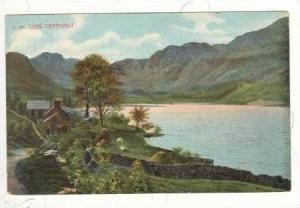 LLYN CRAFNANT, Homes on lake, Wales, UK, 00-10s