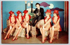 Reno Nevada~Harold's Club~Rusty Draper & Delta Queens~Riverboat Follies~1950s