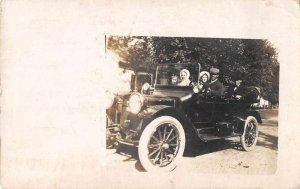 Springfield Illinois Black Driver Real Photo Vintage Postcard JJ658835