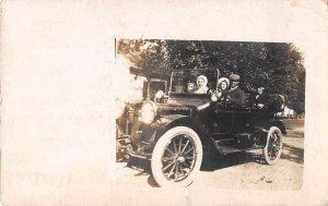 Springfield Illinois Black Driver Real Photo Vintage Postcard JJ658835