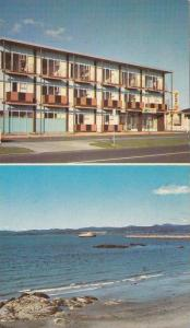 2-views, Surf Motor Hotel, Snowcapped Olympic Mountains and Ocean, Victoria, ...