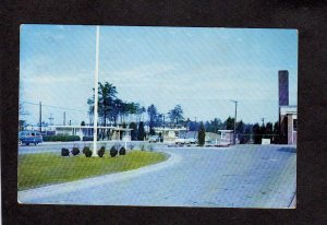 MD Patuxent River Navy Naval Air Test Center Station Maryland Postcard Militay