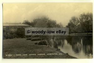 tp8107 - Warwicks - River Leam in Jephson Gardens, in Lemington Spa - Postcard