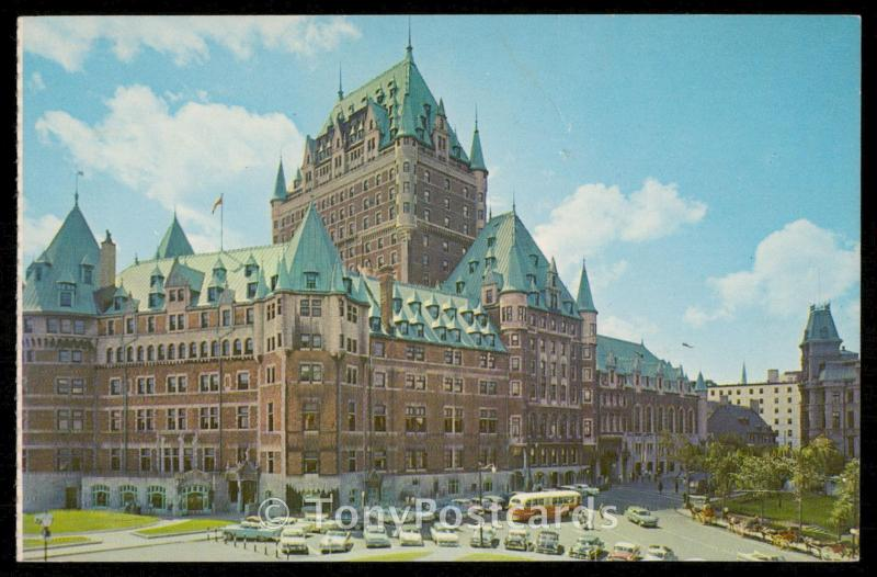 L'hotel Chateau-Frontenac