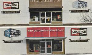 BC: Kirk Auto Electric Ltd., & Automotive Wholesale, Vahmpion Spark Plugs, Mc...
