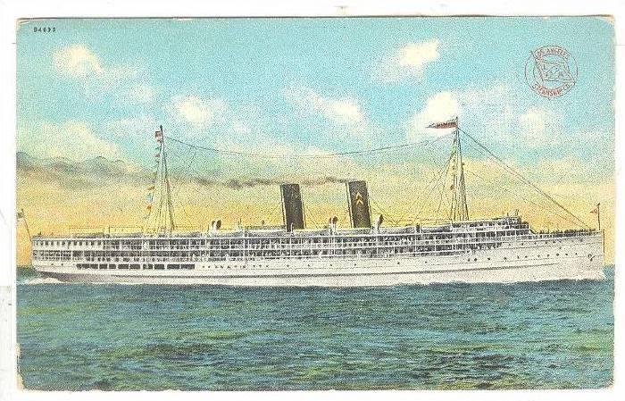 S.S. Yale and S.S. Harvard, Los Angeles Steamship Co., 00-10s