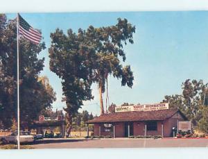 Pre-1980 TOURIST INFORMATION CENTER Fresno California CA ho1005