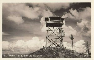 RP: Lake Pend Oreille , Idaho , 1930-40s ; Shaffer Look-Out Tower