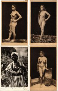 MOROCCO MAROC ETHIC NUDE NUES TYPES 13 Vintage Africa Postcards mostly pre-1940